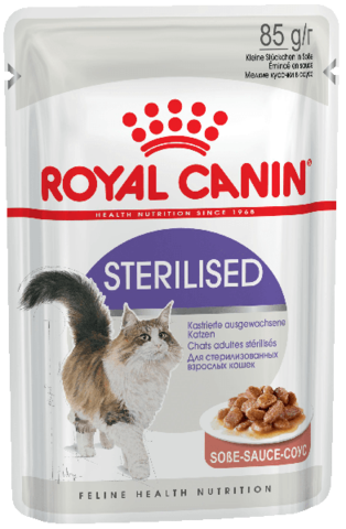 Корм для кошек Royal Canin Sterilised (в соусе) 85 г