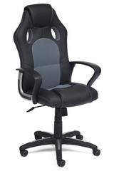 Кресло компьютерное RACER NEW — черный/серый
