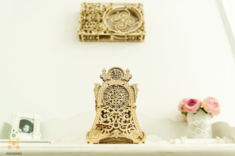 Сборная деревянная модель Магические часы от Wooden City (3d пазл)
