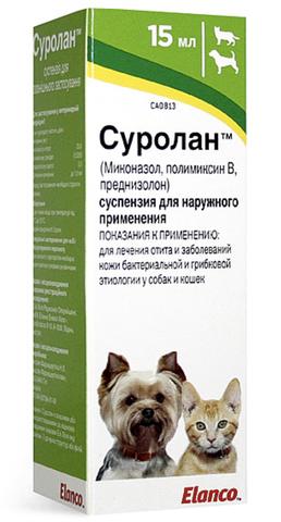 Суролан лечение отитов 15мл