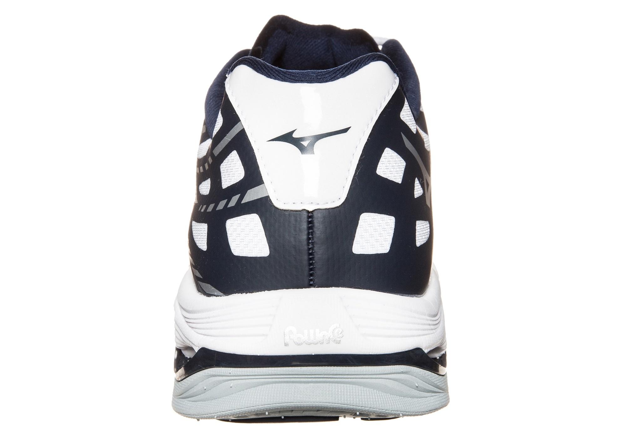 Мужские кроссовки для волейбола Мизуно Wave Lightning Z (V1GA1500 14) белые фото