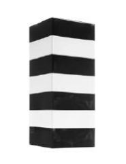 Ваза 30см Gianfranco Ferre Stripes nero