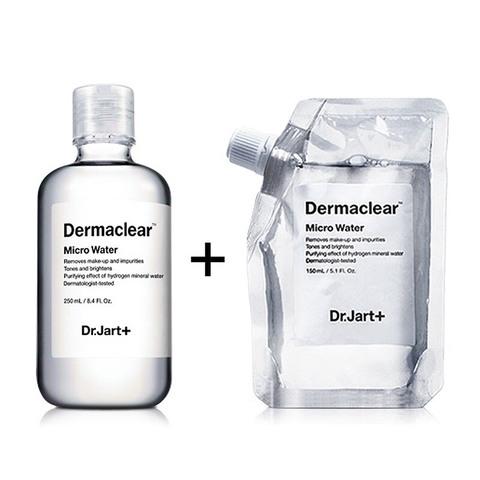DR.JART+ | Биоводородная Микро-вода для очищения и тонизирования кожи (250 мл+150 мл)