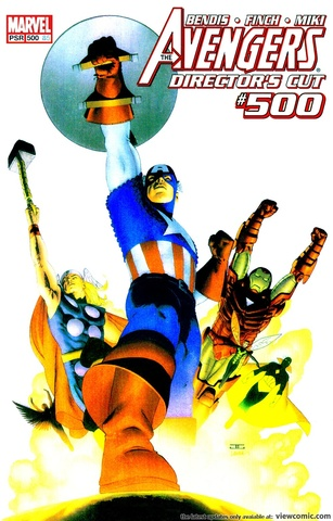Avengers #500 (Director's Cut) Holographic Cover