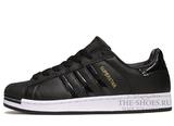 Кроссовки Мужские Adidas SuperStar Black Top
