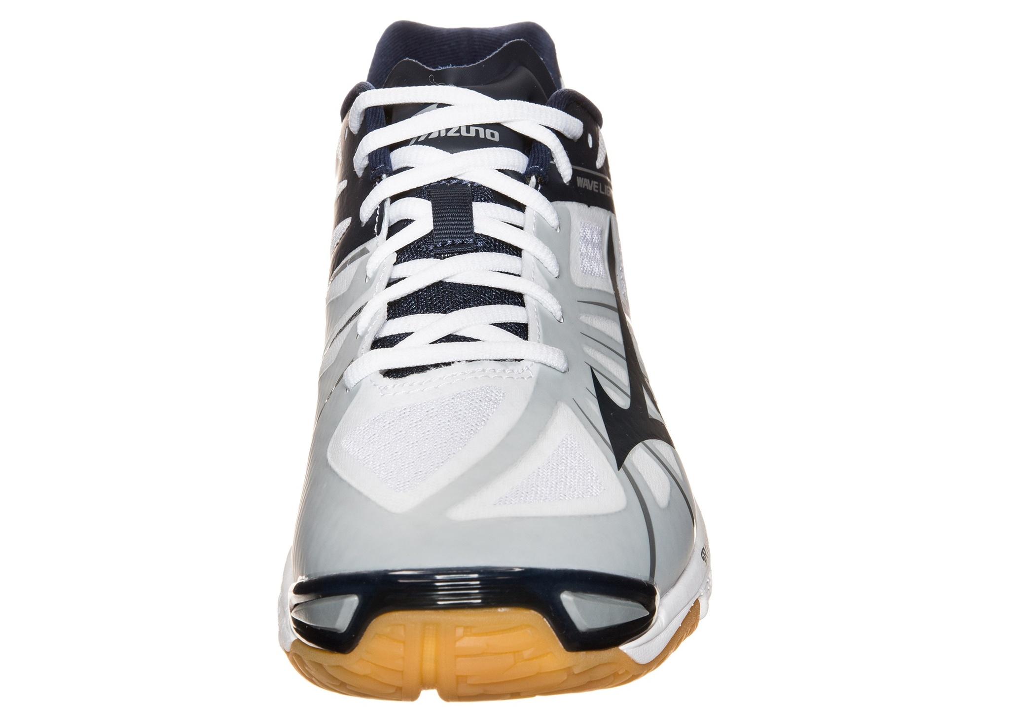 Мужские кроссовки для волейбола Mizuno Wave Lightning Z (V1GA1500 14) белые фото