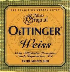 Пиво Oettinger Weiss