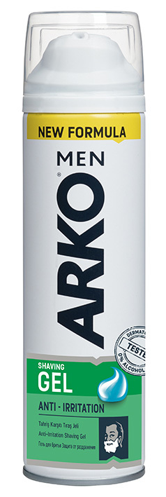 ARKO Men Anti-Irritation Гель для бритья, 200 мл