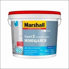 Краска латексная для стен и потолка Marshall EXPORT-2 BW (Белый)