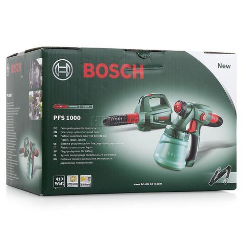Краскопульт BOSCH PFS 1000 0603207000