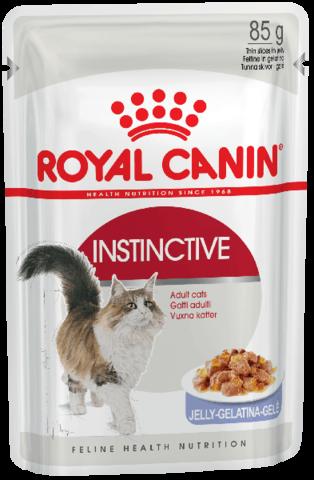Корм для кошек Royal Canin Instinctive (в желе) 85 г