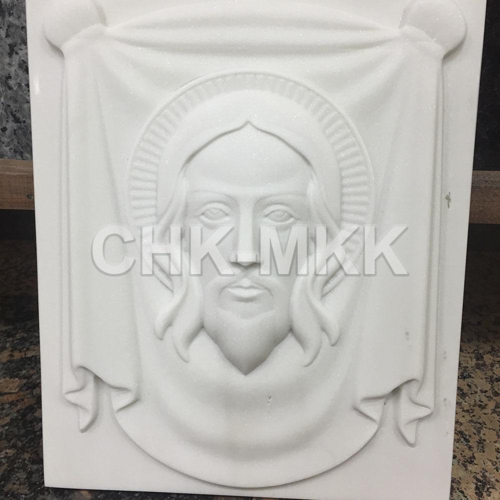Мраморная резная икона №2