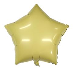 Звезда Матовая желтая (Макарунс)