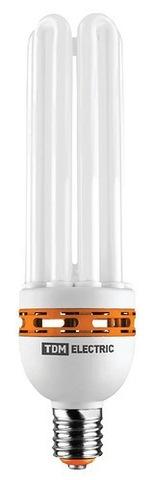 Лампа энергосберегающая КЛЛ-6U-125 Вт-4000 К–Е40 (105х355 мм) TDM