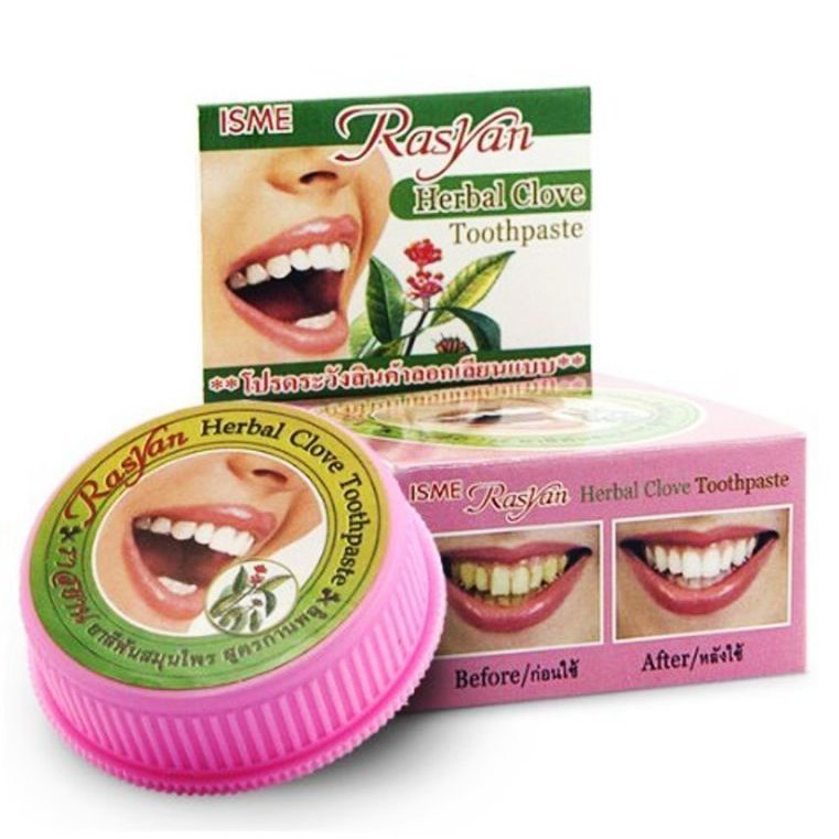 Isme RasYan Зубная паста порошковая Herbal Clove Toothpaste, 25 г