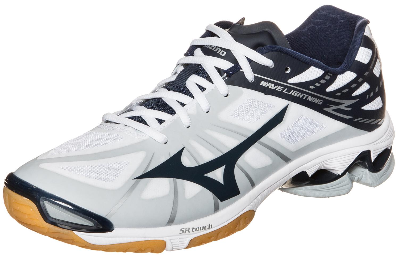 Мужская обувь для волейбола Mizuno Wave Lightning Z (V1GA1500 14) белые фото