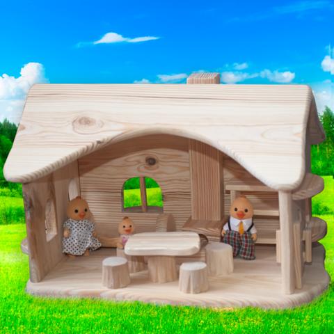 """Деревянный домик """"Лесной"""""""