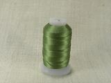 Шелковая нить, толщина 0,33 мм (E), светло-зеленый (1 метр)