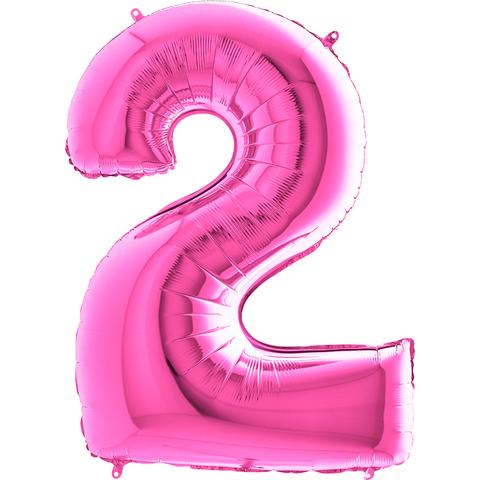 Цифра 2 (Фуксия)
