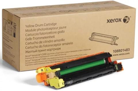 Барабан желтый Xerox VersaLink C500, C505. Ресурс 40000 стр. (108R01483)
