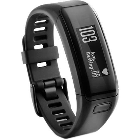 Купить Фитнес-браслет Garmin Vivosmart HR Черные (большого размера) 010-01955-15 по доступной цене