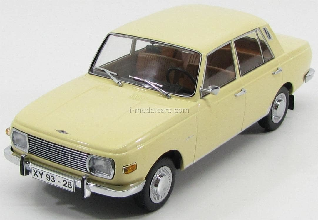 wartburg 353 sedan 1967 light yellow ccc082 ist models 1. Black Bedroom Furniture Sets. Home Design Ideas
