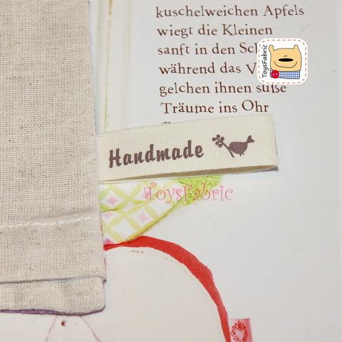 Нашивка тканевая HandMade (1 шт.)  Н108