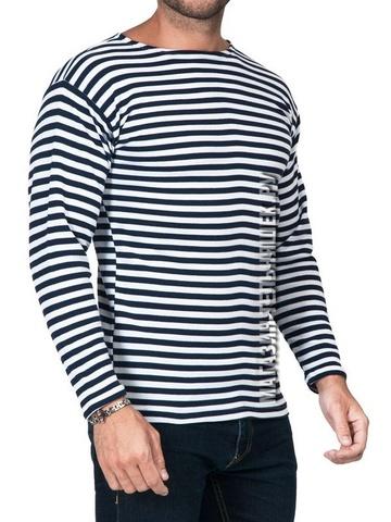 Тельняшка летняя ВМФ (темно-синяя/белая полоса) ГОСТ Минобороны ИНТЕРЛОК