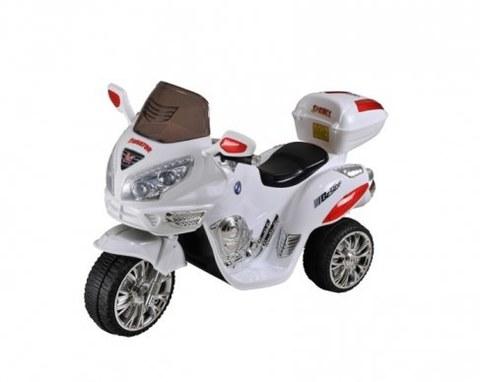 Электромотоцикл Rivertoys Moto HJ 9888 белый