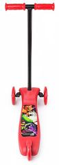 Детский самокат трёхколёсный (красный) - светящиеся колёса