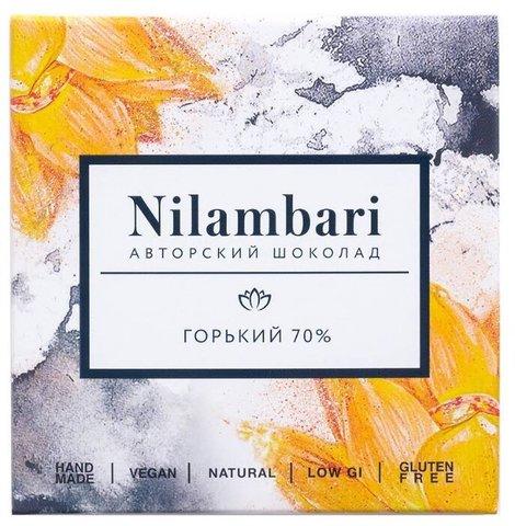 Шоколад Nilambari горький 70%,  65г