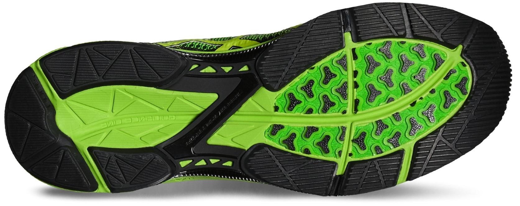 Полумарафонки Asics Gel-DS Trainer 21 мужские T624N 9007 зеленые