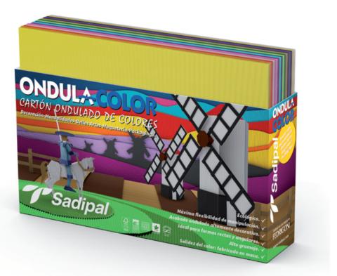 Набор  Sadipal для поделок в комплекте 32*24 см(10л гофрокартона; 10л шелковая бумага; 10 Бумага глянцевая; 7л целлофановая бумага; 5л металлизированный Гофракартон) 25 листов в упаковке