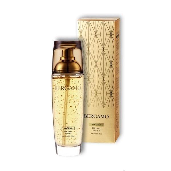 Сыворотка для лица антивозрастная с золотом Bergamo 24K Gold Brillant Essence 110мл