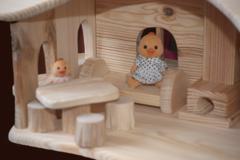 Деревянный домик
