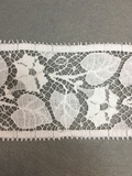 Кружево RM Chantilly Cotton Blanc кабея