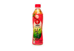 Японский зеленый чай со вкусом личи Oishi, 380мл