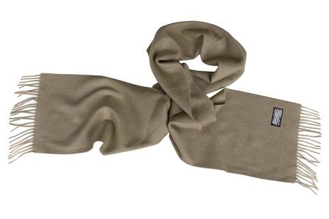 Шерстяной шарф коричневый 00502