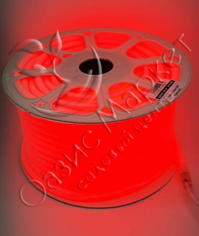 Неон 14мм 360 красный
