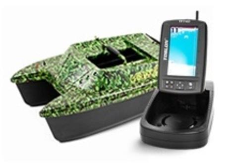 Кораблик Carpboat Deluxe + Эхолот TF740 GPS+Xpilot