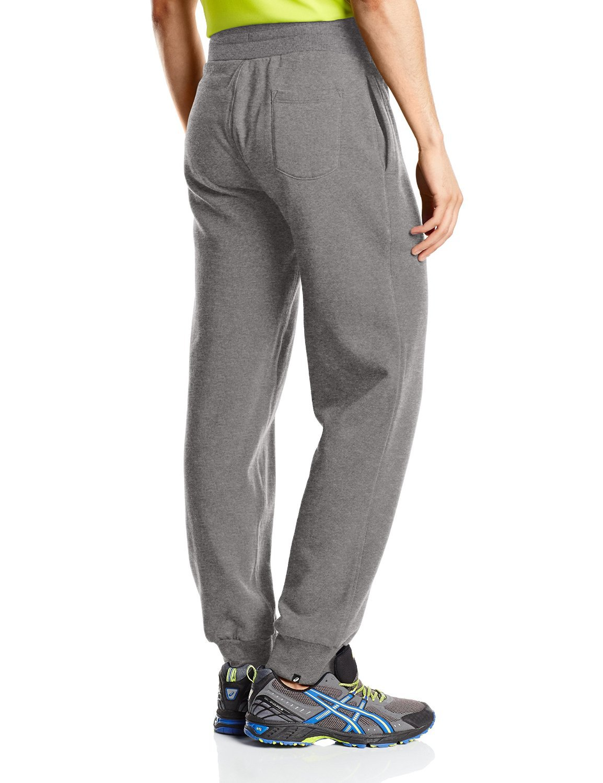 Мужские брюки Asics Graphic Brushed Cuffed Pant (127639 0773) серые фото
