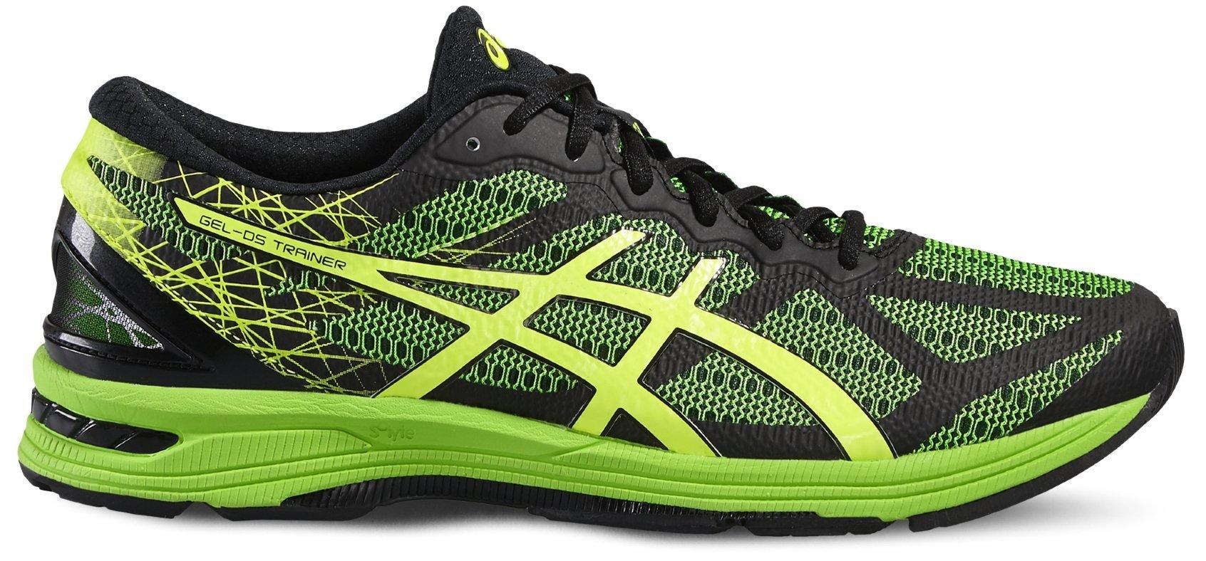 Беговые кроссовки для мужчин Asics Gel-DS Trainer 21 зеленые для темповых тренировок и соревнований