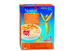 Хлопья Nordic 4-х зерновые с отрубями, 600г