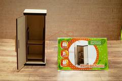 Деревянный игрушечный холодильник Graver Master Kids