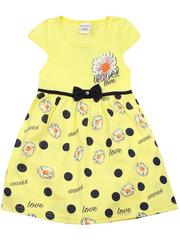540-1 платье детское, желтое