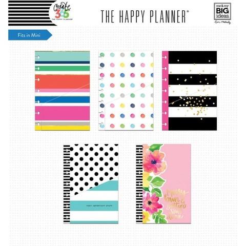 Кармашки для ежедневника Create 365 Mini Planner Folders - Multi Dots -5шт.