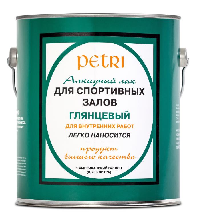 Лак для спортзалов Petri Spar Gym / Петри глянцевый