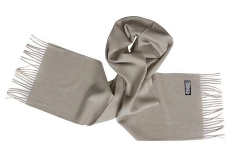 Шерстяной шарф серый 00503