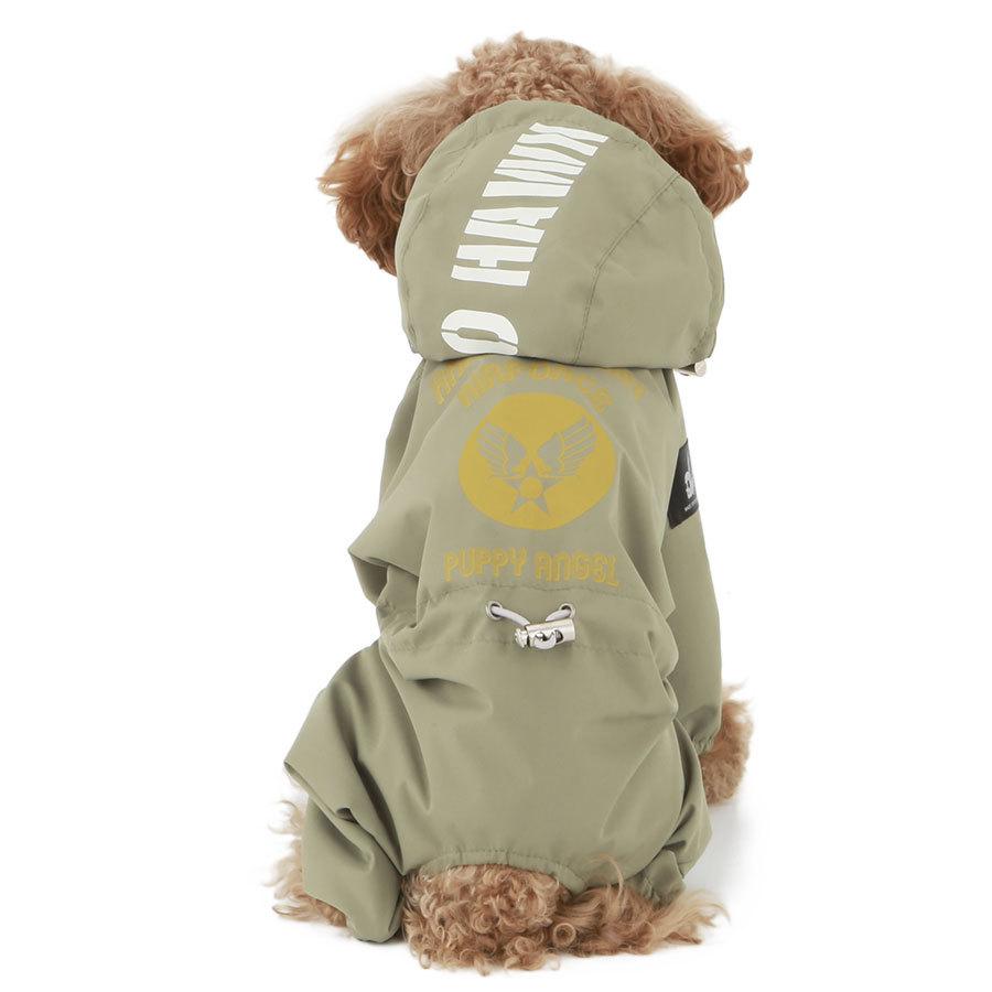 дождевик для пуделя puppyangel