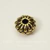 Бусина - рондель TierraCast (цвет-античное золото) 10х6 мм